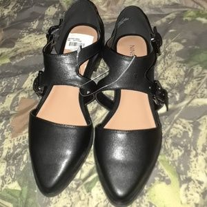 Size 7 1/2M Nine West Black Shoes NWT
